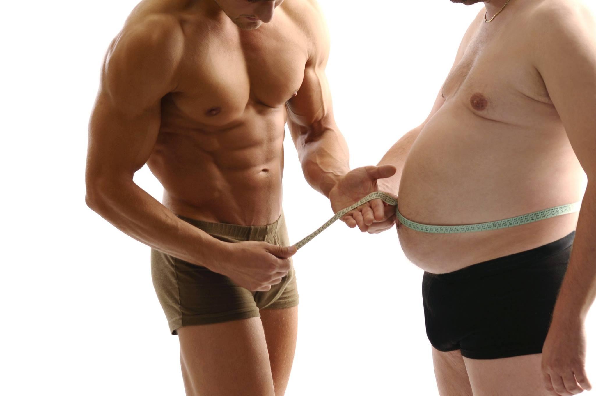 Похудеть животе для мужчин